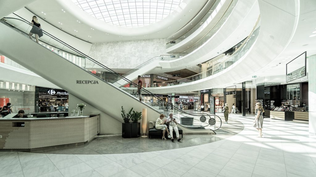 Choose Skylights for Your Mall Design